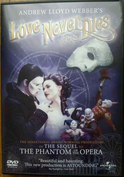 「Love Never Dies<br />  」DVD
