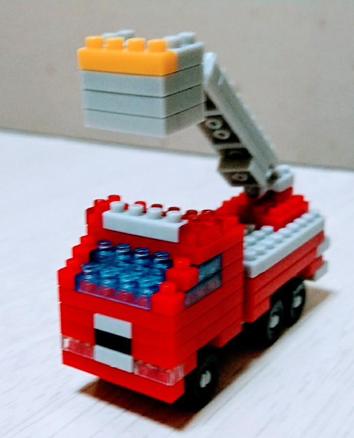 消防車デキター